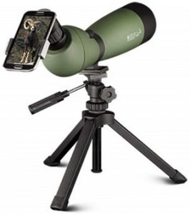 Konus 7120 20x60x80mm Spotting Scope with Tripod and Case