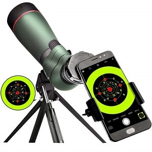 landove 20-60X 65 Waterproof Spotting Scope