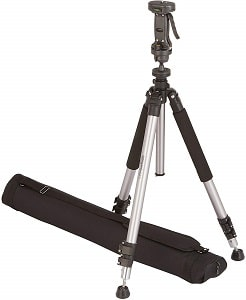 AmazonBasics Pistol Grip Camera Travel Tripod With Bag