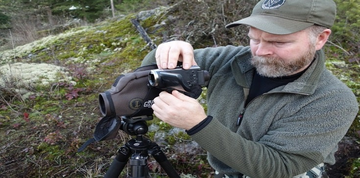 How To Mount A Camera On A Spotting Scope