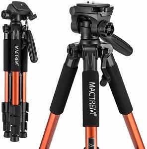 Mactrem PT55 Travel Camera Tripod