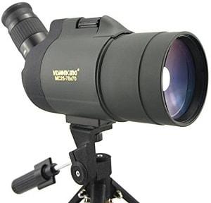Visionking 25-75x70 Maksutov Spotting Scope 100% Waterproof Bak4 with Tripod